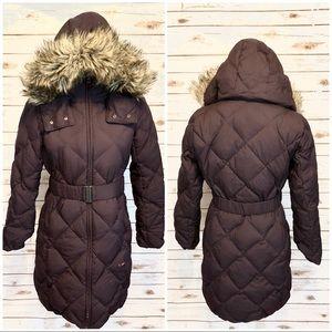 Uniqlo $129 Dark Plum Puffer Jacket